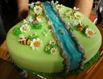 Torta pre oslávenkyňu Veroniku, tá jej mamka je veru šikovná.